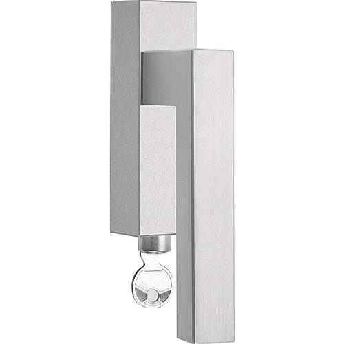 LSQIII-DKLOCK brushed stainless steel locking tilt and turn window handle