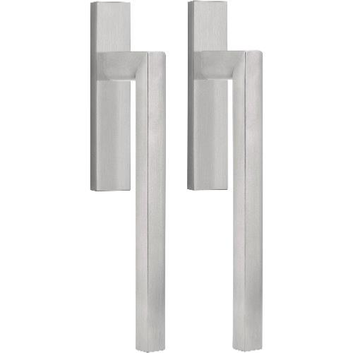 PB231PA brushed stainless steel pair of lift-up sliding door handle set