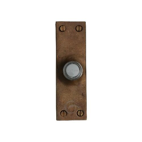 M.Marcus Solid Bronze Rustic RBL348 Bell Push