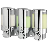 AVIVA Chrome Triple Locking Soap Shampoo Dispenser