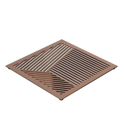 FROST Copper Square Pattern Table Trivet