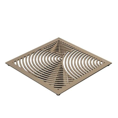 FROST Gold Round Pattern Table Trivet