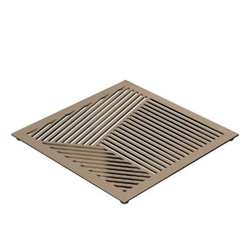 FROST Gold Square Pattern Table Trivet
