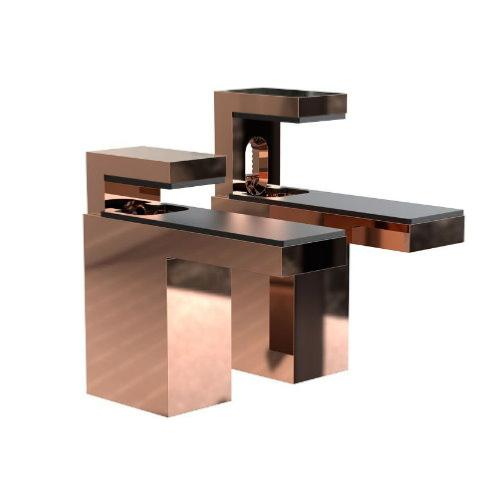 FROST Quadra Copper Shelf Bracket 6