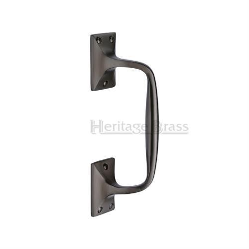 M.Marcus Heritage Brass V1150 Cranked Pull Handle