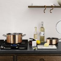 EVA TRIO Copper Casserole Pot