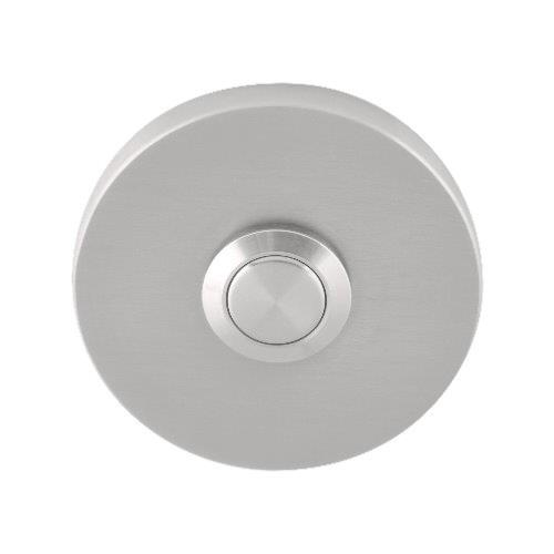 Fold TB50 brushed stainless steel bell push