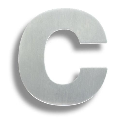 Diagram Arkitur 150mm Grade 316 Lowercase Letter C