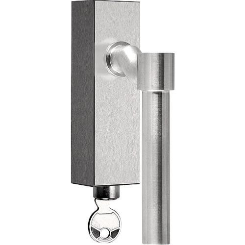 Piet Boon PBL15F-DKLOCK stainless steel offset tilt and turn window handle