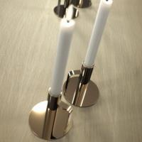 FROST Gold Candlestick