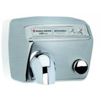 World Dryer Model A Manual Hand Dryer