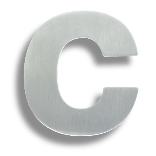 Arkitur 150mm Grade 316 Lowercase Letter C