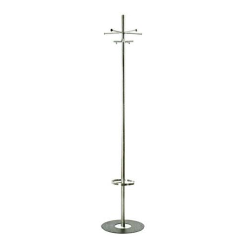 Brushed stainless hall stand 5