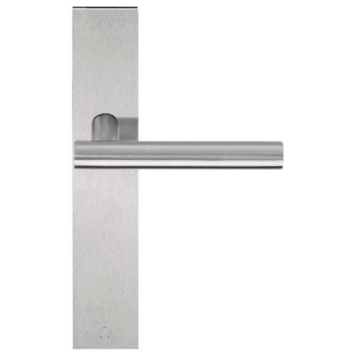 LBVII-19P236 stainless steel lever handle on plate