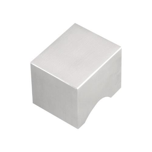 LSQ40V stainless steel square cut cabinet knob