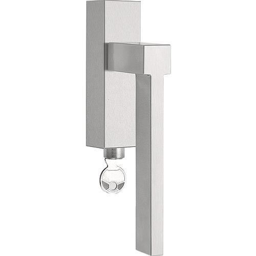 LSQV-DKLOCK brushed stainless steel locking tilt and turn window handle