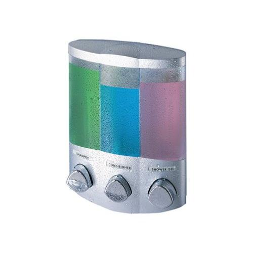 AVIVA Satin Triple Corner Soap Shampoo Dispenser