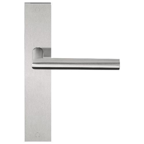LBII-19P236 stainless steel lever handle on plate