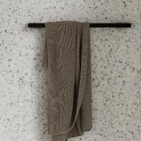 MENU Black Towel Bar