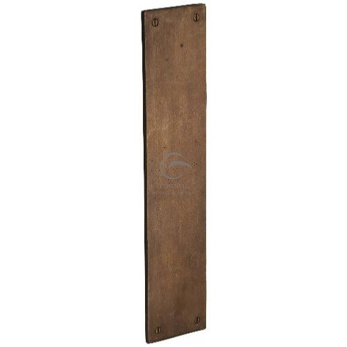 M.Marcus Solid Bronze Rustic RBL431 Finger Plate