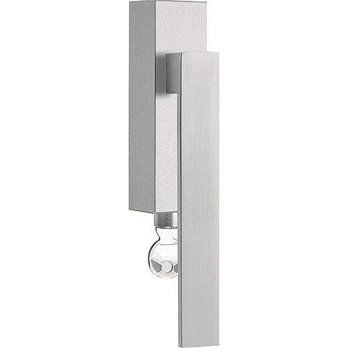 LSQIICB-DKLOCK brushed stainless steel locking tilt and turn window handle