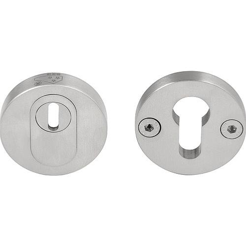 Piet Boon PBVEIL-KT stainless steel security escutcheons