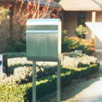 Antares Mail Post Box/Stand