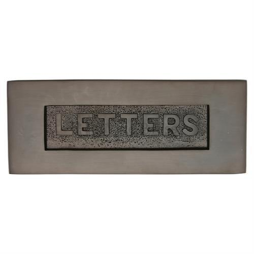 M.Marcus Heritage Brass V845 Embossed Letter Plate