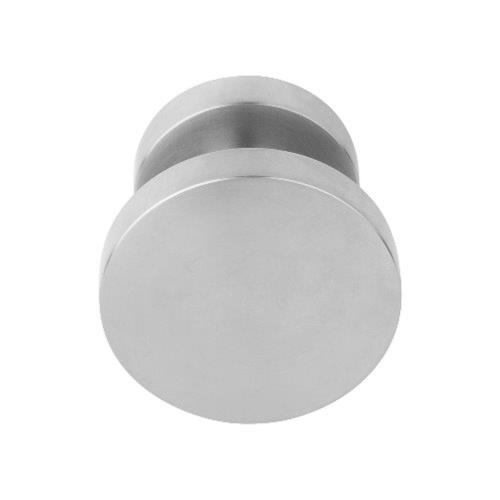 LB701V flat stainless steel centre front door knob pull