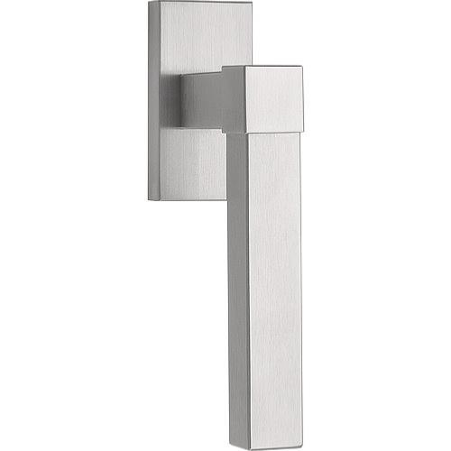 VL125-DK brushed stainless steel non-locking tilt and turn window handle