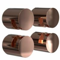 FROST Nova2 Copper Mirror Holder Set 3