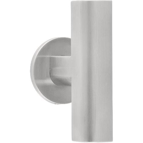 PBT23G brushed stainless steel set of knobs for glass doors