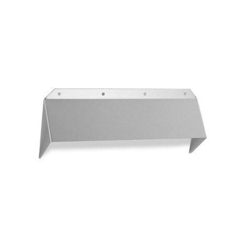 Randi brushed stainless steel security cowl