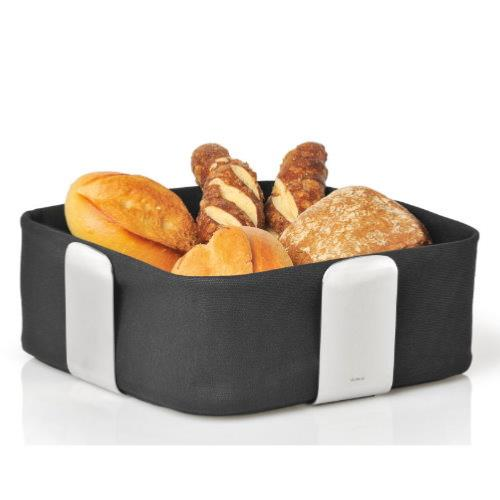 BLOMUS Desa Large Black Bread Basket