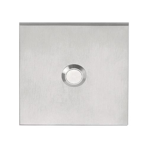 LSQ80 stainless steel 80mm square bell push