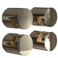 FROST Nova2 Gold Mirror Holder Set 3