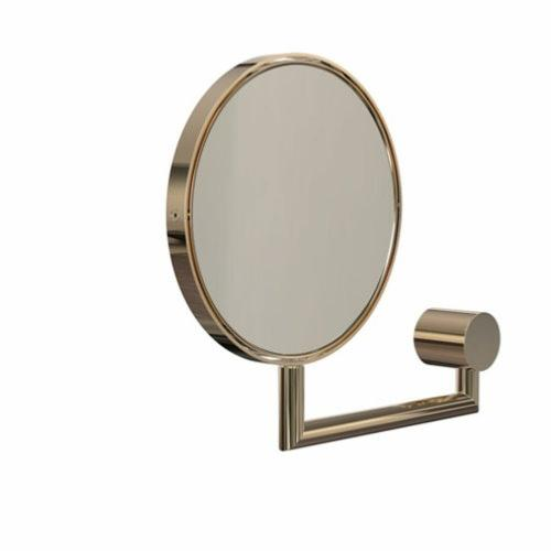 FROST Nova2 Gold Wall Mounted Magnifying Mirror