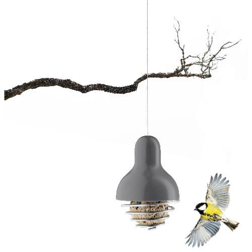 EVA SOLO Grey Suet Bird Feeder