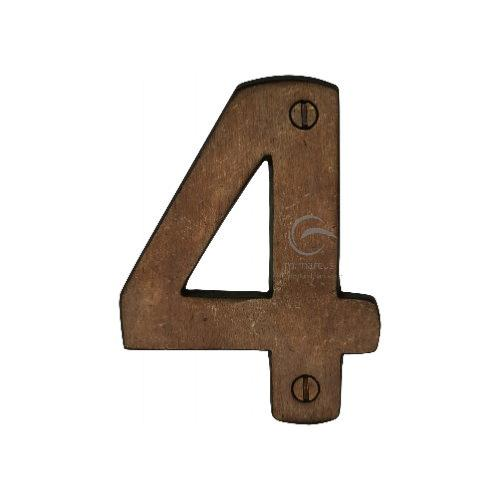 M.Marcus Solid Bronze Rustic Door Number 4