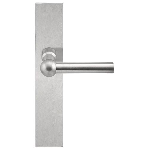 FVL125P236 stainless steel lever handle on plate