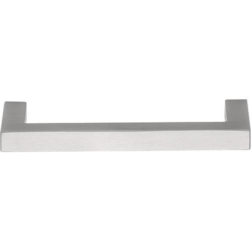 LSQ80 brushed solid stainless steel square cabinet handle