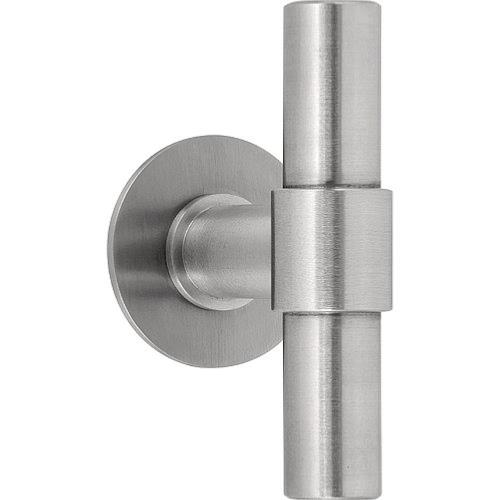 Piet Boon PBT100G stainless steel set of solid knobs for glass door