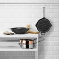 EVA TRIO Cast Iron Grill Frying Pan