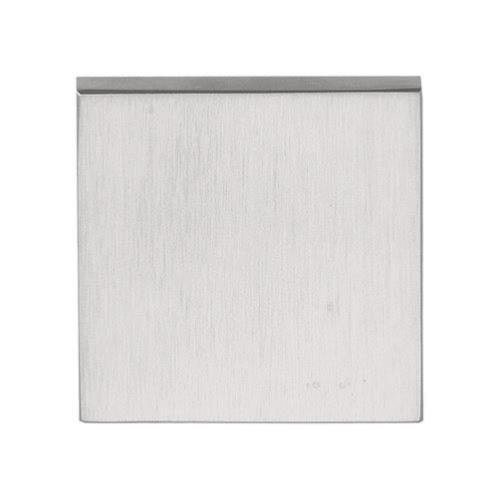 LSQB50 stainless steel square blank escutcheon