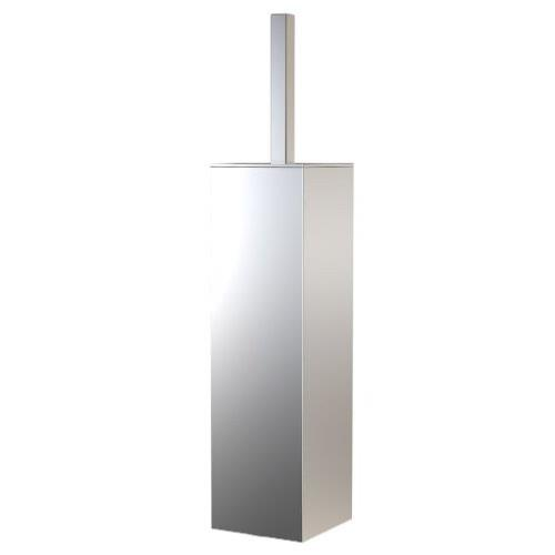 Frost Quadra Square Toilet Brush Holder