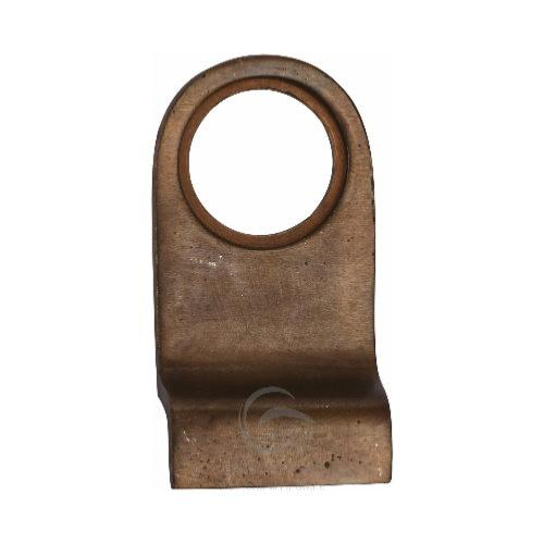 M.Marcus Solid Bronze Rustic RBL342 Cylinder Pull