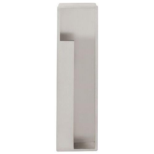 Timeless MN1031 matt nickel rectangular recessed flush pull