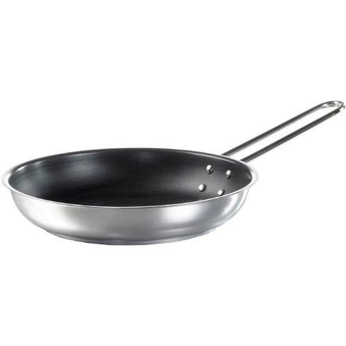 EVA TRIO stainless steel slip let Medium frying pan