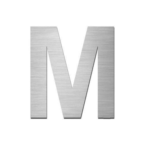 Brushed Stainless Steel Capital Letter