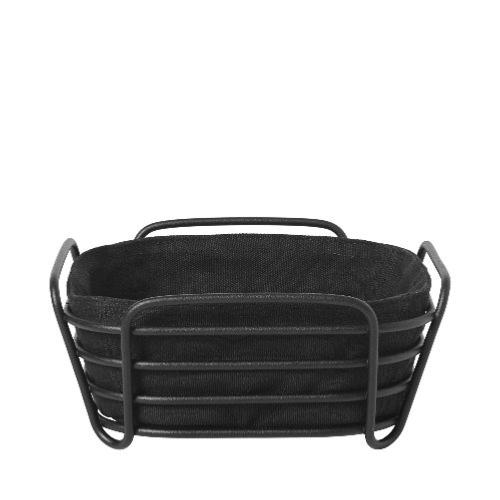 BLOMUS Delara Black Bread Basket